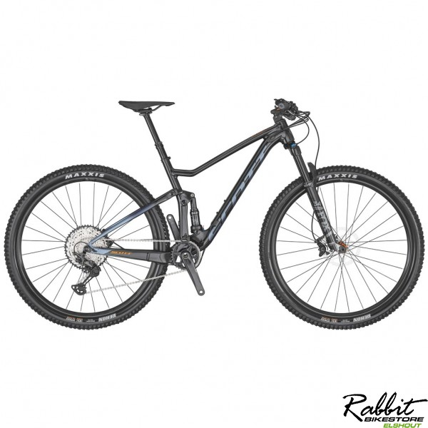 Scott Spark 940 2020 L, Zwart/Blauw/Orange