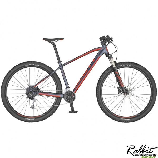 Scott Aspect 940 2020 L, Grijs/Rood