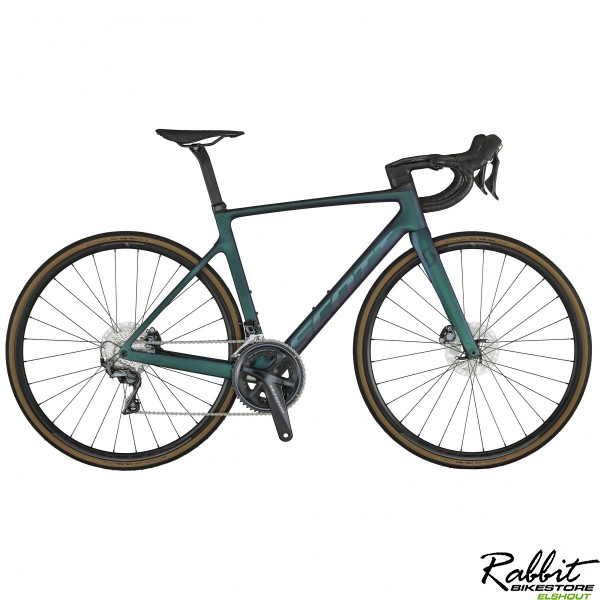 Scott Addict Rc30 2021 Prism Green Purple M/54, Blauw