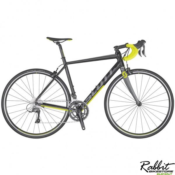 Scott Speedster 40 2020 M/54, Zwart/Geel