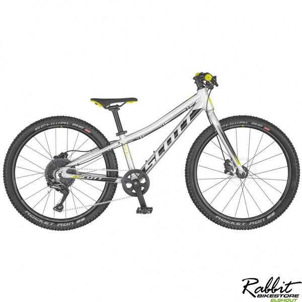 Scott Scale RC 24 Rigid 2020, Zilver/Geel