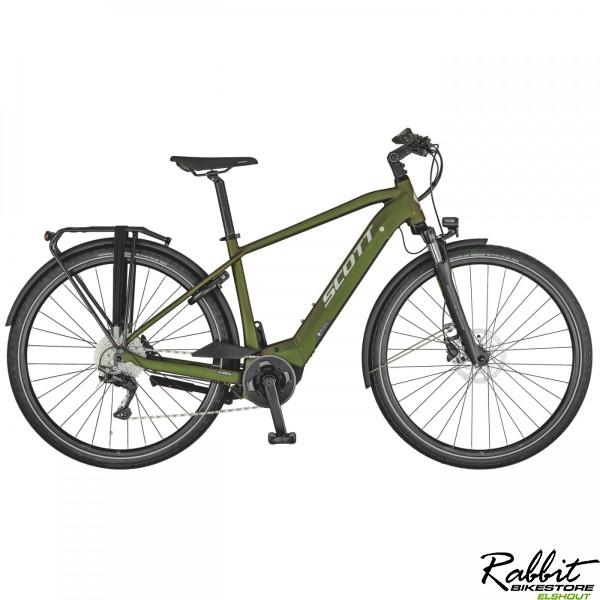 Scott Sub Tour eRIDE 10 2021 XL, groen