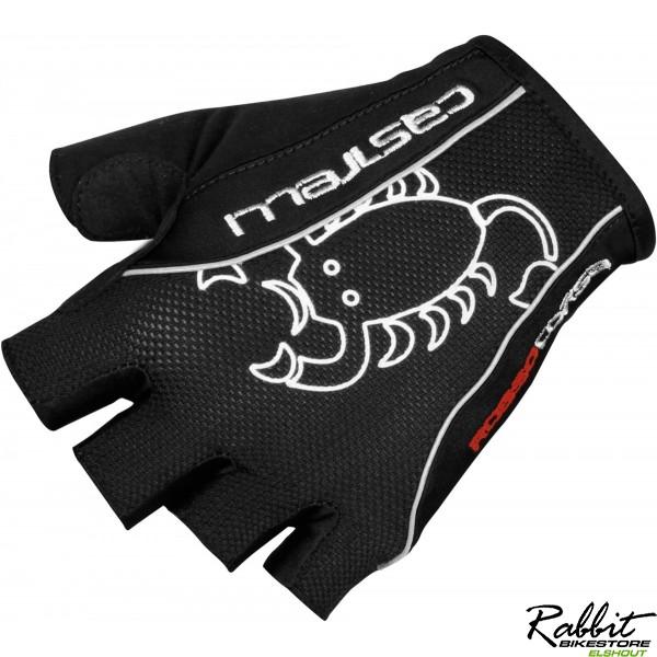 Castelli Ca Rosso Corsa Classic Glove-black-m