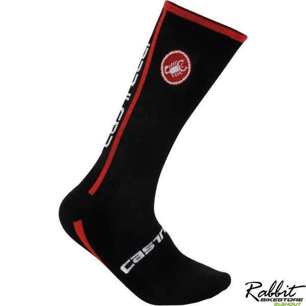 CA Venti Sock-Black/Red-SM