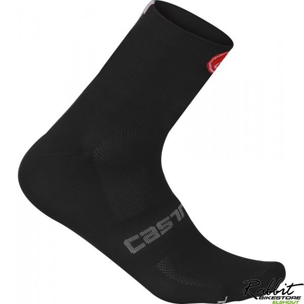 Castelli Ca Quattro 9 Sock-black-s/m
