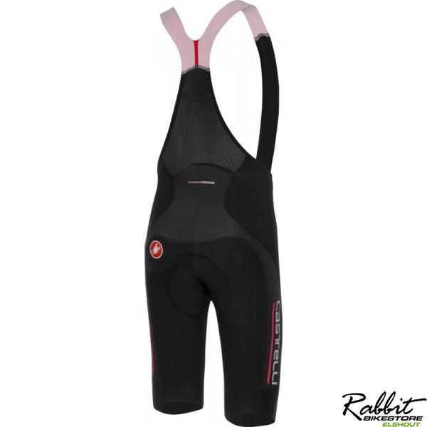 Castelli Ca Omloop Thermal Bibshort-black/red Reflex-l