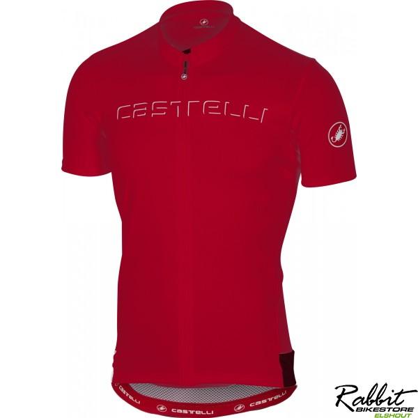 Castelli Ca Prologo V Jersey-red-xl