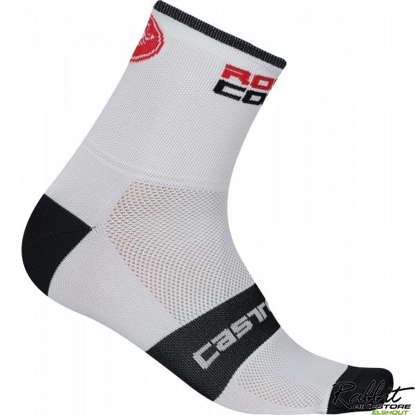 Castelli Ca Rossocorsa 13 Sock-white-lx