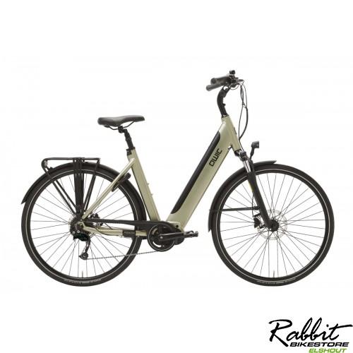 Qwic Premium I i-MD9 L  heren! incl 40WH accu, Timber Green