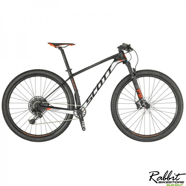 Scott Scale 930 M, Zwart/wit (rode Accenten)