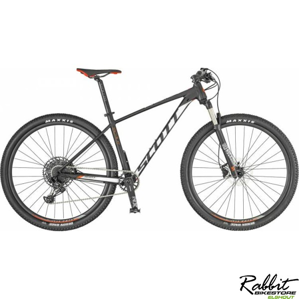 Scott Scale 980 black/white M, zwart/wit