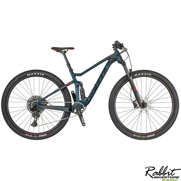Scott Contessa Spark 930 S, Blauw/Zwart