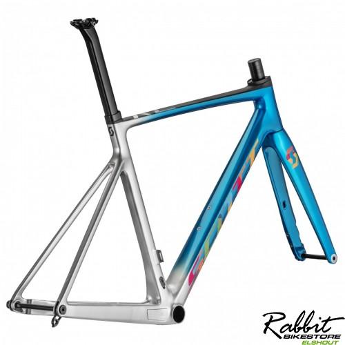Scott Addict RC Ultimate Team Ed Frameset XL/58, Blauw/Zilver